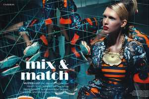 The 1st Magazine April 2011 Editorial Features Nadine Wolfbeisser