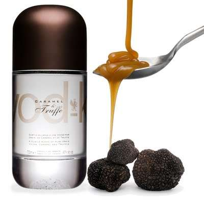 Epicurean Liquor Infusions - The VOD-K Blends Truffle & Caramel to Create Gourmet Premium Alcohol