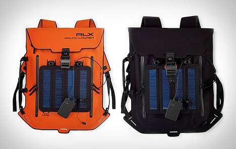 RLX Solar Panel Backpack