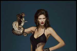 This Kendra Spears Numero Editorial Features a Slithering Sidekick