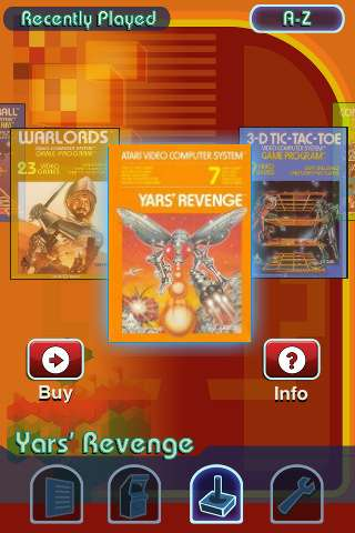 Atari iPhone App
