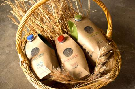 Organic Valley Milk Packaging