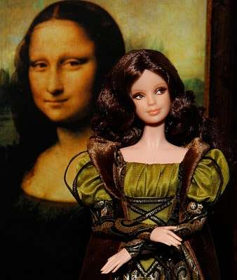 Da Vinci-Inspired Dolls - Mattel Releases Fine Art Barbies Based on Art History