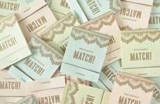 Disguised Wedding Invites - Twig & Thistle Creates Adorable Matchbook Save the Dates Cards