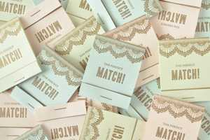 Twig & Thistle Creates Adorable Matchbook Save the Dates Cards
