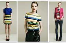 Colorfully Striped Collections - The Zara Lookbook Provides Perfect Summer Outfits
