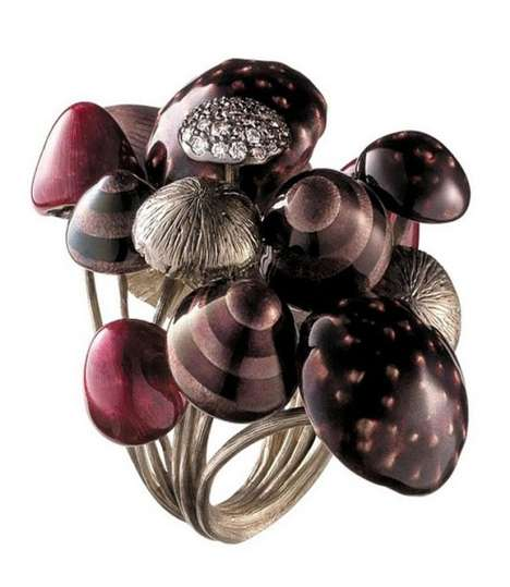 Toadstool-Sprouting Jewelry