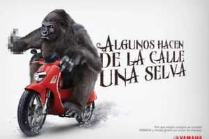 This Yamaha Scooter Campaign Puts Beasts Behind the Wheel