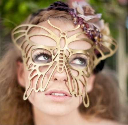 Leather Masquerade Masks