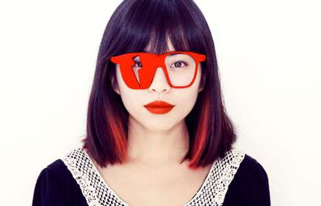 Geometrically Altered Hipster Shades