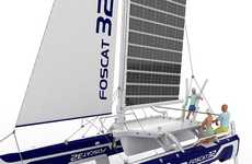 Solar-Powered Sailboats