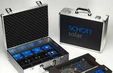 Schott Solar's Suitcases are Specially Designed for School Students