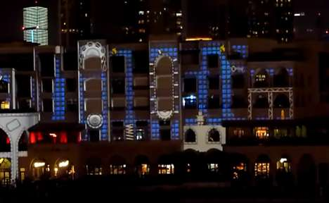 Fanta Dubai 3d Projection Mapping