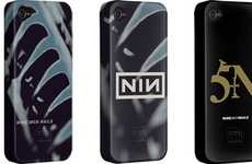 Rock Band Phone Protectors - The Nine Inch Nails Smartphone Cases are Hardcore & Awesome