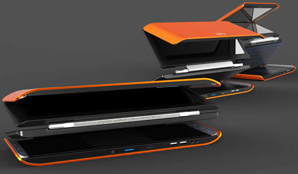 Four-Fold Laptops