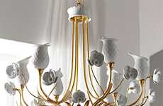 Blooming Porcelain Lighting