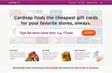 Discount Gift Card Sites - CardNap Lets Users Re-Sell Old Gift Cards and Buy New Ones for a Steal