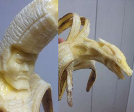 Banana Sculptures