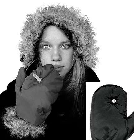 Smoking mittens are smoking hot, Designer Tobias Wong