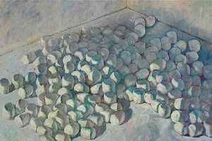 Painter Derek Buckner Creates Comforting Pictures with Marshmallows