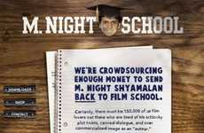 Celebrity Tuition Assistance Blogs - M. Night School is Trying to Send the Director Back to School
