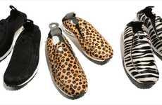 Animal-Print Athletic Shoes