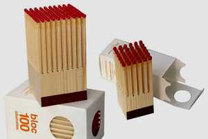 Design Pyrenees Turns a Block of Wood into Matches