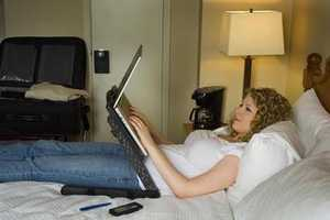 Relax and Do Your Work in Bed With the Laptop Laidback