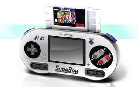 hand-held super nintendo