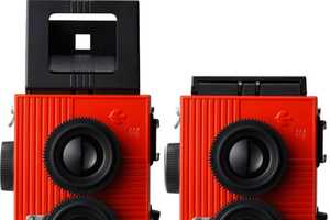 The Powershovel Brand Creates Camera with Sprocket Patterns
