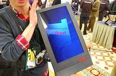 Two-Foot Tablets - The Lenovo 23-Inch Tablet Will Be Released in Late 2011