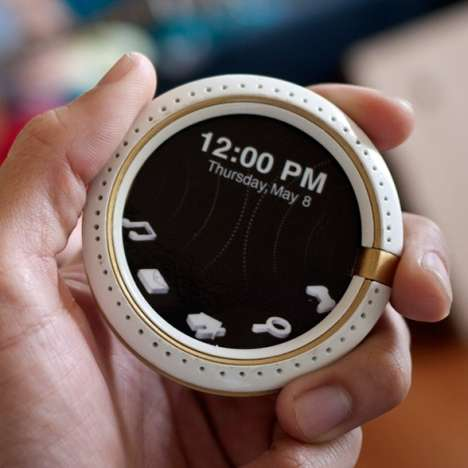 Networking Pocket Watches - Serendipity from Hoang M Nguyen Puts a New Spin on Social Media