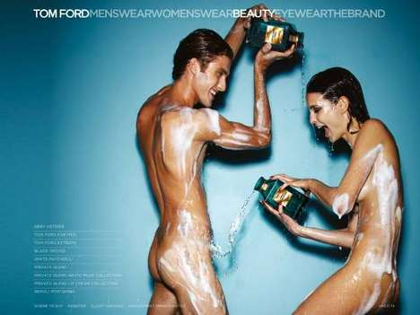 The Tom Ford Neroli Portofino Campaign is Wet and Wild