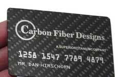 Carbon-Fiber Business Cards - Carbon Fiber Designs Creates Luxury and Lightweight Business Cards