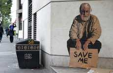 Poverty-Focused Graffiti - Michael Aaron Williams Comments on the Global Homeless Epidemic