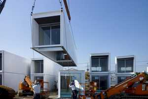 Ex-Container Project Provides Japan Earthquake Survivors a New Home