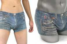Denim Boxer Briefs