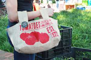 The Market Grown Grocery Sacks Are Made to Support Local Farming