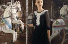 Classy Carnival Campaigns - Red by Valentino Spring Collection Adds Flair at the Fair