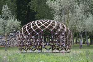 David Trubridge Presents the Dream Space Dome, a Quiet Place to Relax in Nature