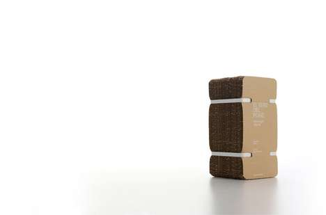 Unpretentious luxury packaging