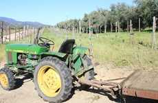 Sustainable Oil-Guzzling Tractors - Temecula Olive Oil Company Uses Leftover Olive Oil for Fuel