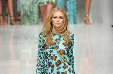 Blumarine Spring/Summer 2011 Features Color-Popping Animal Prints