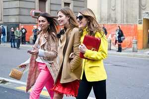 Phil Oh Heads to Milan to Capture Pops of Color in Spring Wardrobes