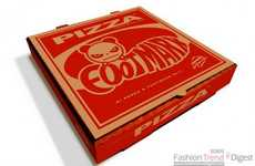 Pizza Box Branding - Footmark and Hi Panda Serve Up Limited-Edition Jeans in Eye-Catching Packaging