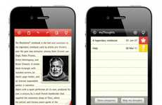 Noteworthy Writer Apps - Jot Down Your Thoughts With the Virtual Version of the Moleskine App