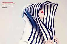 Coco Rocha in Jean-Paul Gaultier for Elle Quebec May 2011