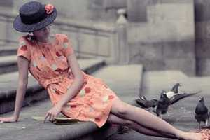 Mademoiselle en Fleur for Marie Claire Italia Lets the Clothes Shine
