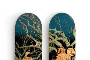 The Graphics of the Shan x Lockwood Decks are Simply Out of This World