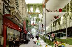Paris' Future Plans - Collectif et alors Unveils a Gloriously Green Paris for the Year 2100